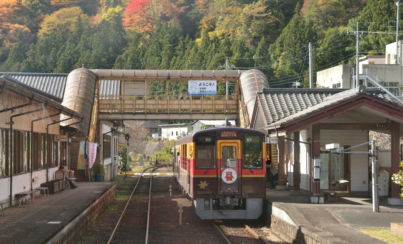 2.わたらせ渓谷鐵道(群馬県〜栃木県)