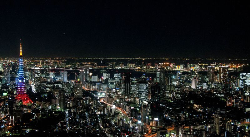 東京・六本木地区のクリスマスイルミネーションは必見!煌めく冬の輝きを綺麗に撮るコツ!