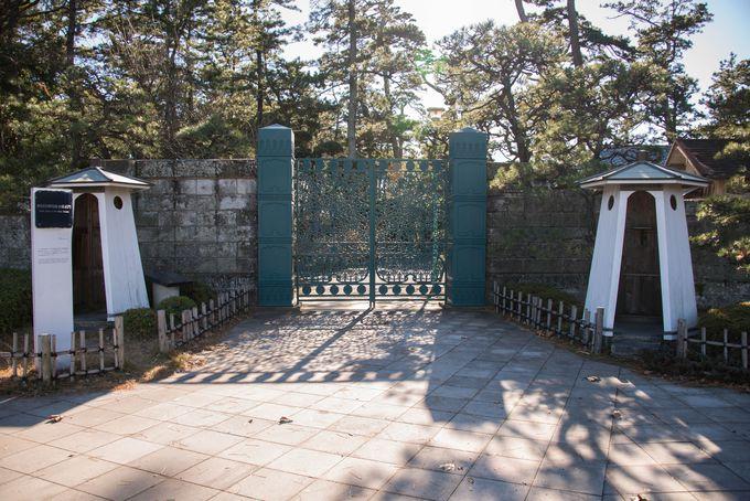 散策の終点は御用邸記念公園。皇室とも深い縁にある街の文化に触れよう