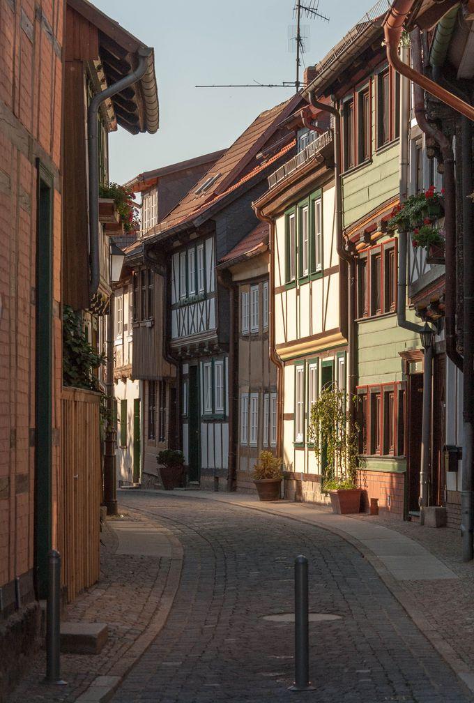 まずはヴェルニゲローデの街のレイアウトをよく理解しよう。