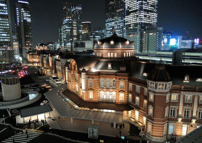 5.ロマンティックな夜景スポット「東京駅」を観光