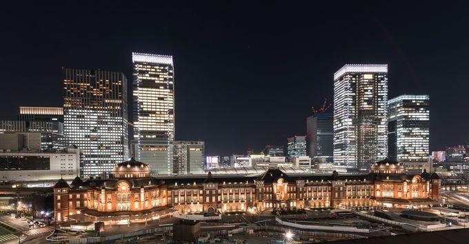 「イチオシ」は東京駅丸の内駅舎。近い将来に正面側の景観が素敵になりそう!