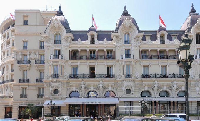 宿泊はリッチに「Hotel de Paris」(オテル ドゥ パリ)に泊まってみよう