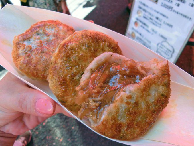 【江戸清】熱々!フカヒレ焼餅