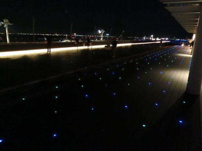 【第2旅客ターミナル】夜に時間が空いたら絶対ココ!星屑のステージ!