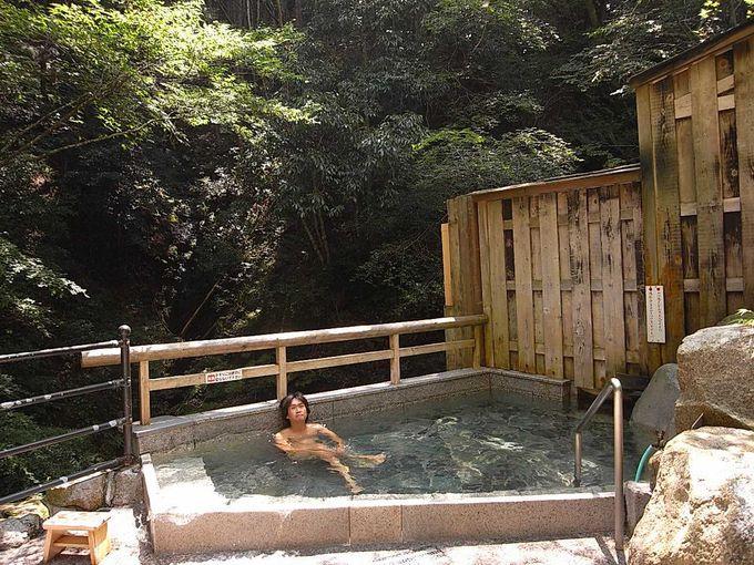 湯泉地温泉共同浴場「滝の湯」