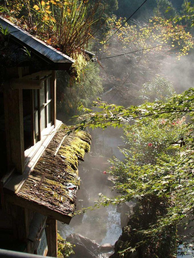 秘湯の一軒宿 上湯温泉「神湯荘」
