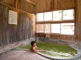 エメラルドグリーンの超希少な温泉【岩手・国見温泉・石塚旅館】
