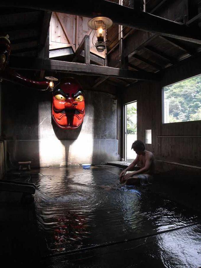 混浴の「天狗の湯」