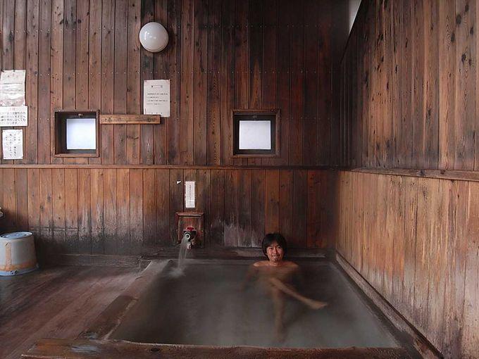 気合で激熱風呂に!