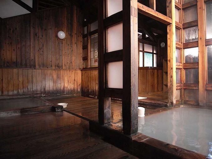 熱々の白旗源泉が楽しめる共同浴場「白旗の湯」
