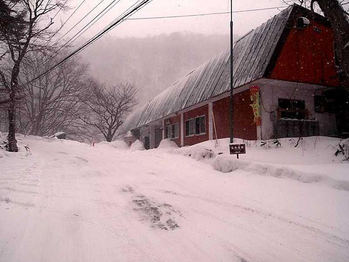 吹雪の中の訪問
