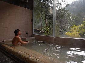 大阪府内で貴重な源泉かけ流しを体験!その1・犬鳴山温泉「山乃湯」