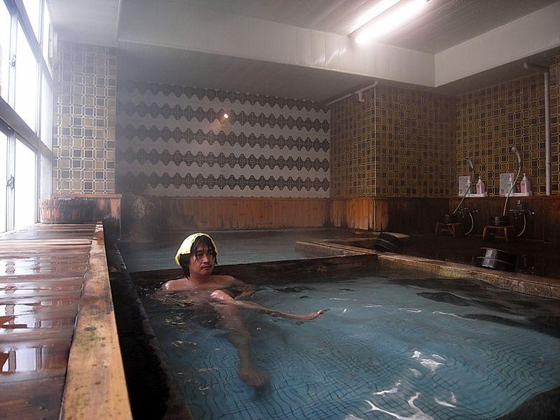 至福の湯浴み