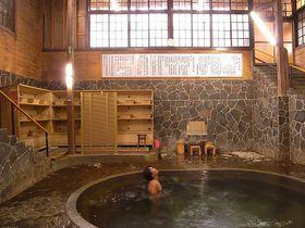 深さなんと1.25m!立って入る温泉?!岩手県鉛温泉「藤三旅館」