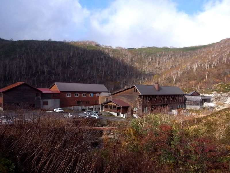 大自然の中の「五色温泉旅館」