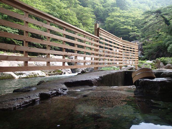 露天風呂に浸かりながらの景観
