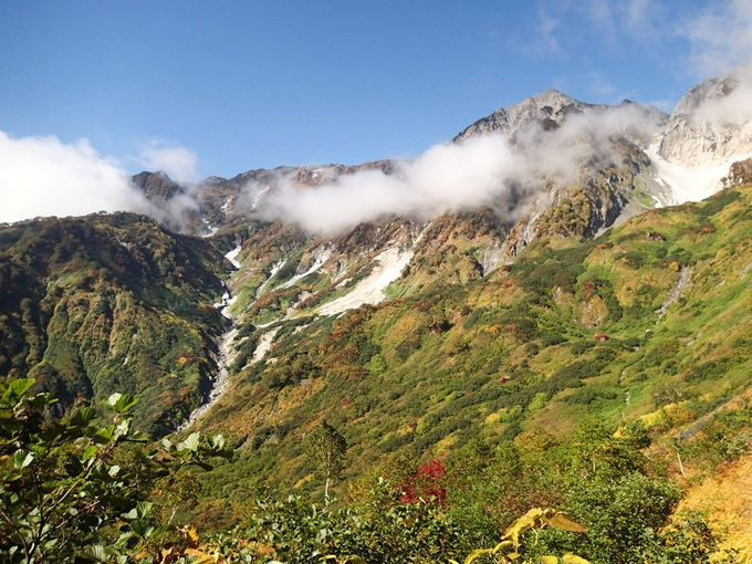 絶景を眺めながらの登山