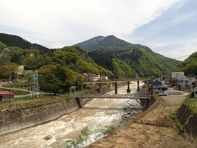 ひっそりと佇む姫川温泉
