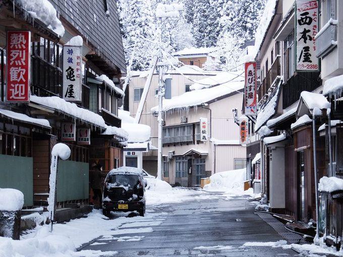 冬の豪雪地帯へ