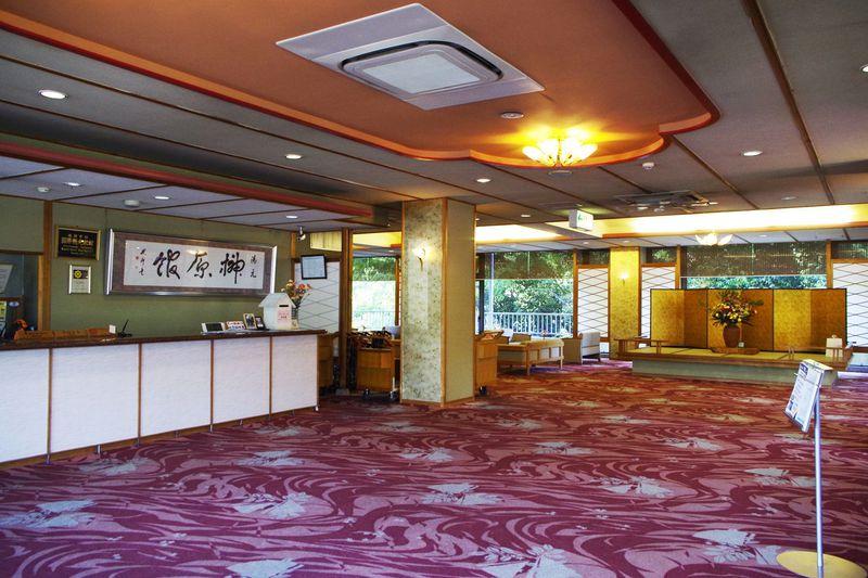 大きな温泉宿「湯元榊原舘」