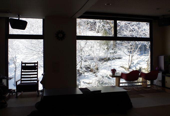 川沿いにひっそり佇む一軒宿「恵比寿屋旅館」