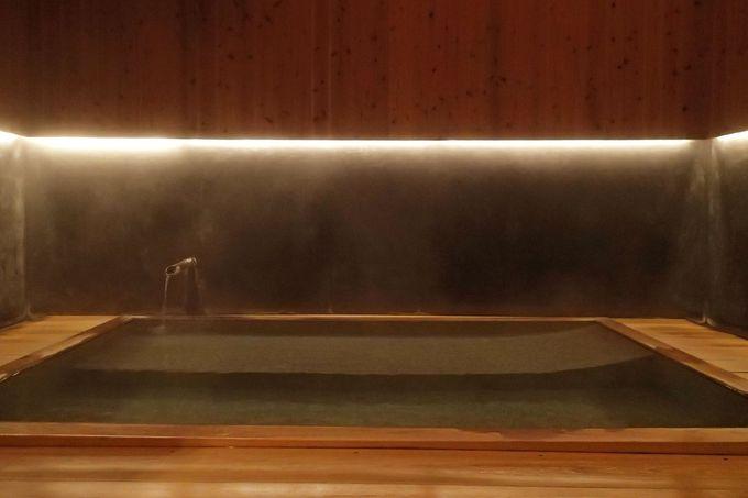 スタイリッシュな和モダンな婦人風呂