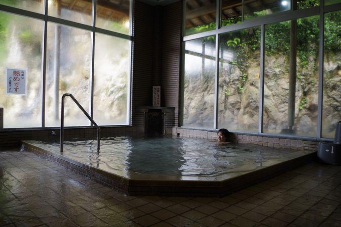 「久美浜温泉 湯元館」もうひとつの浴室