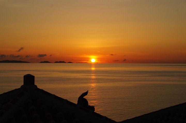 瀬長島の夕日はお見逃しなく