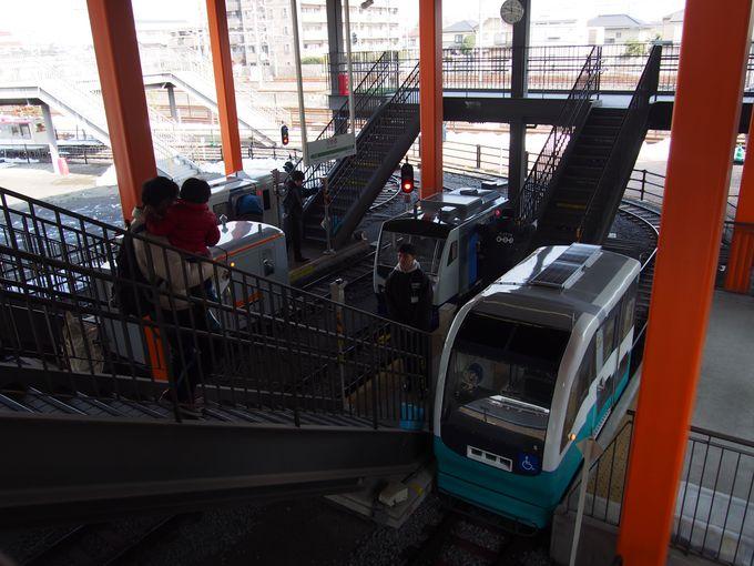 11:50 ママとミニ列車に乗って冒険だ〜!