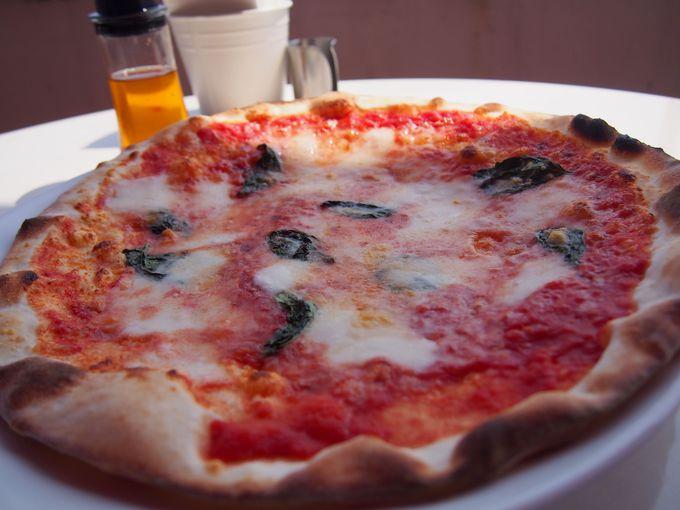 ランチコースのイタリアンピッツァがお勧め