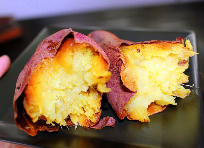 茨城土産はコレ!あま〜い紅天使の焼き芋!スイーツも美味しい