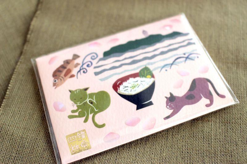 鎌倉の絵柄がかわいい!「鎌倉四葩」の上質なあぶら取り紙