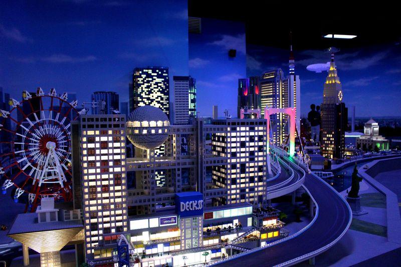 ジオラマは感動モノ!お台場「レゴランド・ディスカバリー・センター東京」