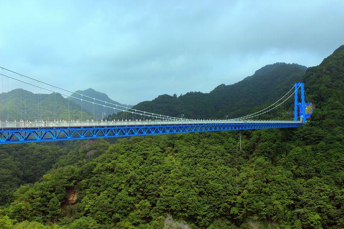 日本一のバンジージャンプ「竜神大吊橋」とは