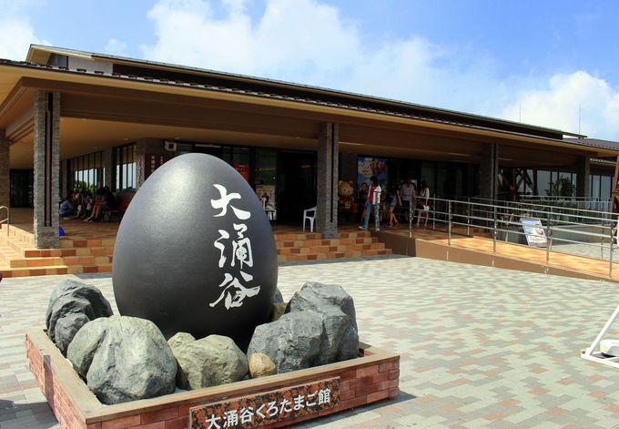 2014年1月「大涌谷くろたまご館」がオープン!