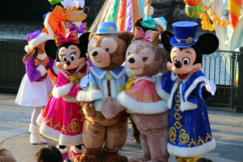 サンタのダッフィーと過ごす♪東京ディズニーシーのクリスマス2014