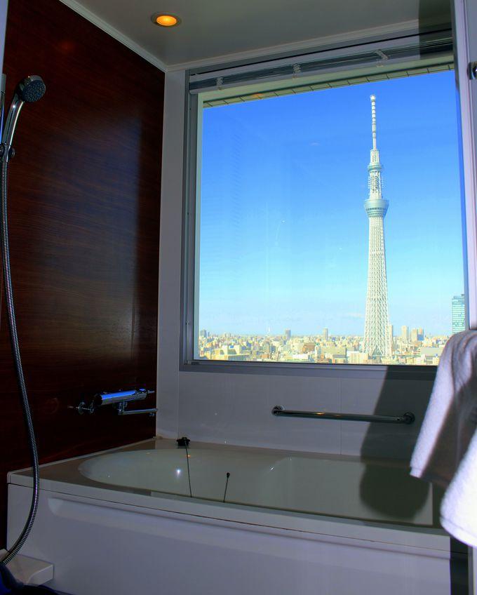 バスルームから東京スカイツリーが見える「リュクシー」!気になるお値段は?