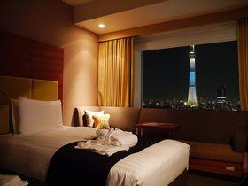 絶景の東京スカイツリービュー!「ロッテシティホテル錦糸町」はコスパも最高!