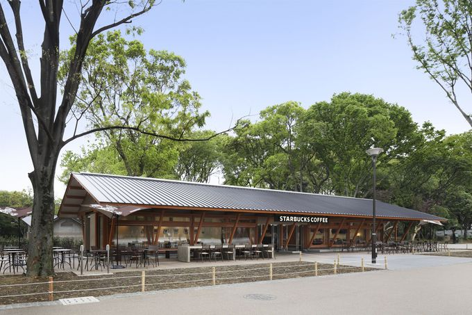 上野恩賜公園店はスターバックスのコンセプトストア!