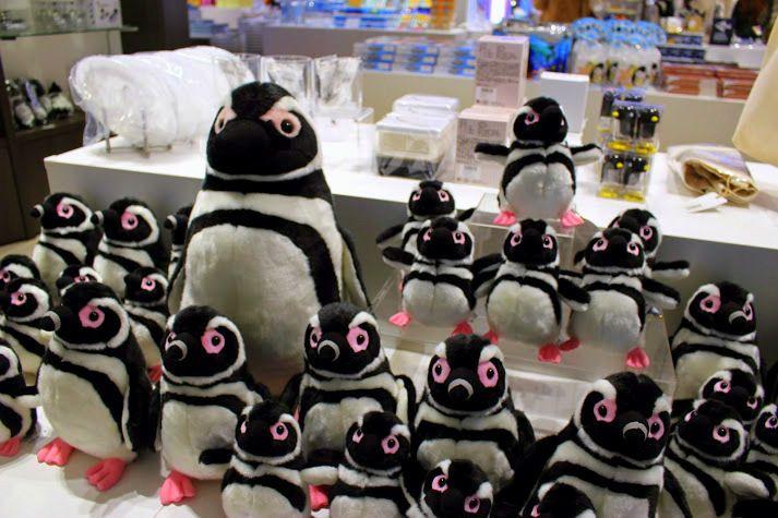 お土産にペンギングッズはいかが?