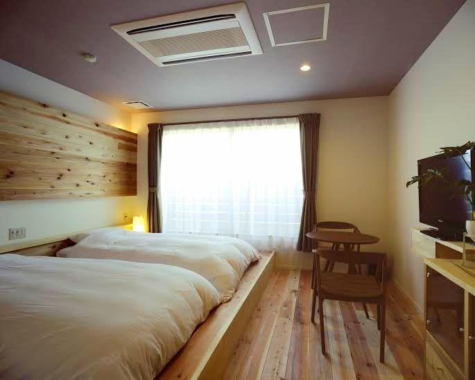 洋室、和室、海が見えるお風呂について