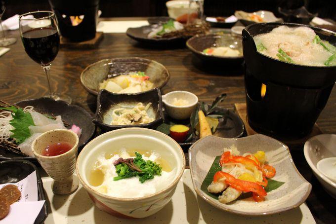上州の旬の食材にこだわった山中料理が自慢!