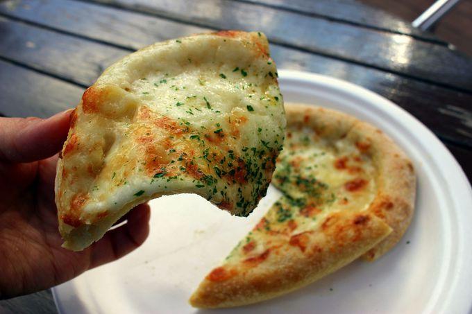 自家製チーズをたっぷり使ったピザ専門店「ピザタイム」