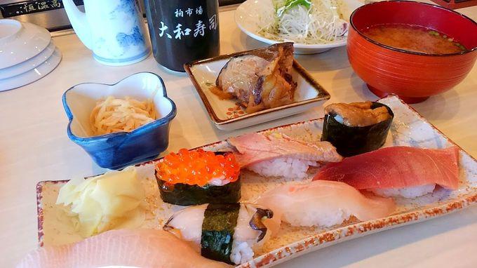 築地大和寿司の暖簾わけ寿司店も!