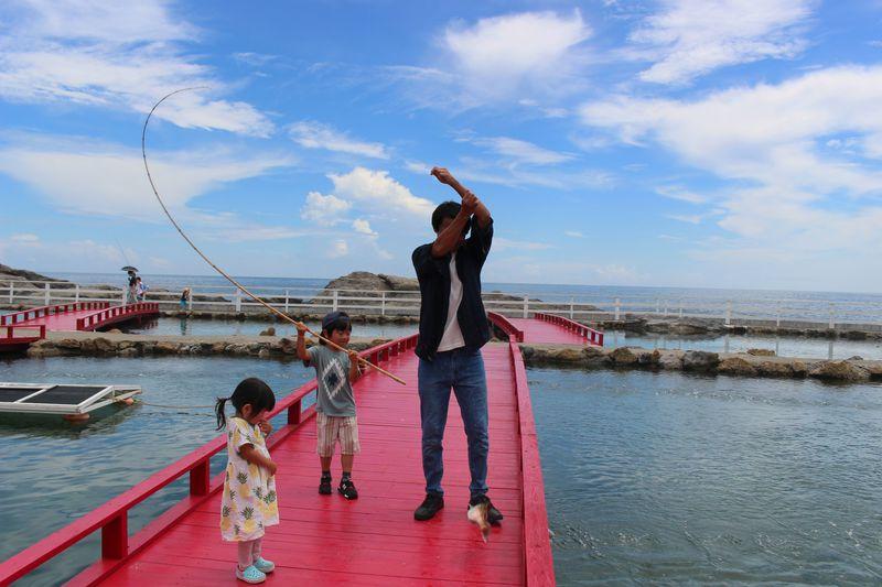 釣って食べる!鴨川・太海フラワーセンター「海の釣堀」が面白い!