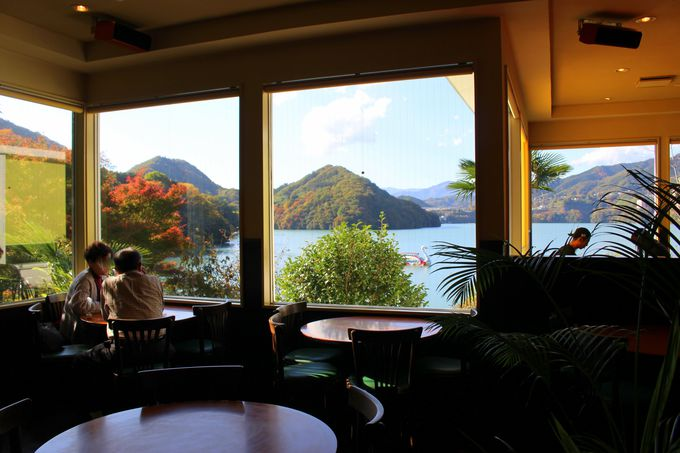 絶景カフェ「COCCO+」でひと休憩