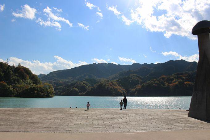 相模湖と県立相模湖公園