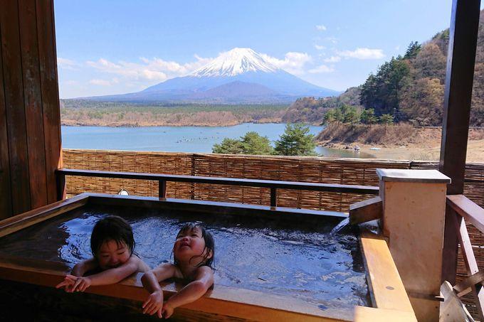 富士山の見える絶景露天に立ち寄って帰宅