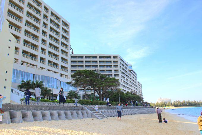 立地抜群!ビーチが楽しめる巨大リゾートホテル